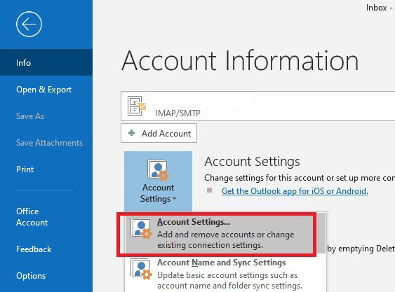Configuring Microsoft Outlook 365